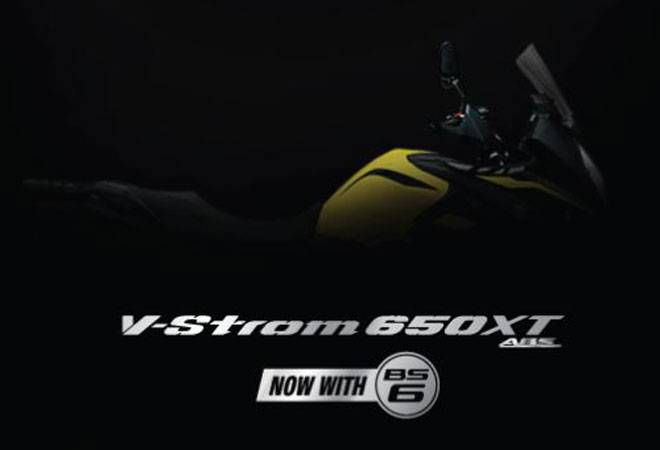 Suzuki V-Strom 650 XT BS6 teased online; here's all you need to know