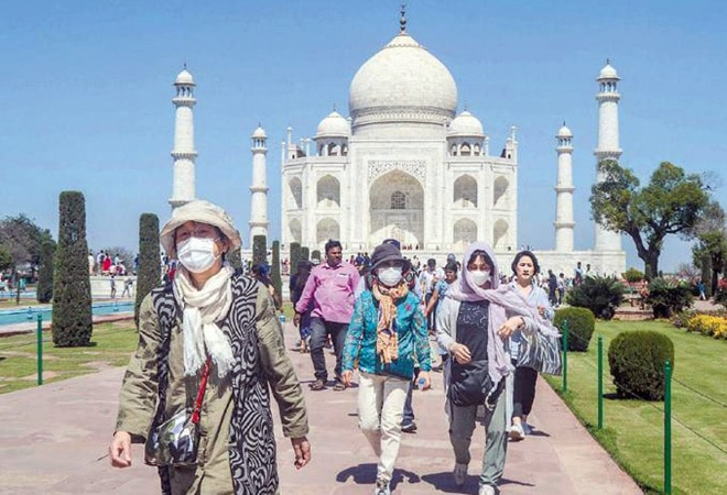 5,000 visitors, two slots, fee hike -- Strict COVID-19 measures as Taj Mahal reopens after six months
