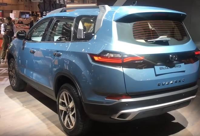 Tata Buzzard SUV unveiled at Geneva motor show 2019