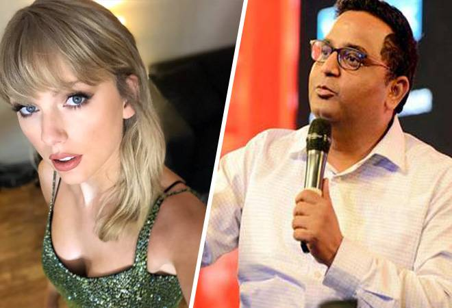 Taylor Swift releases new remix of song Lover; finds a fan in Paytm's Vijay Shekhar Sharma