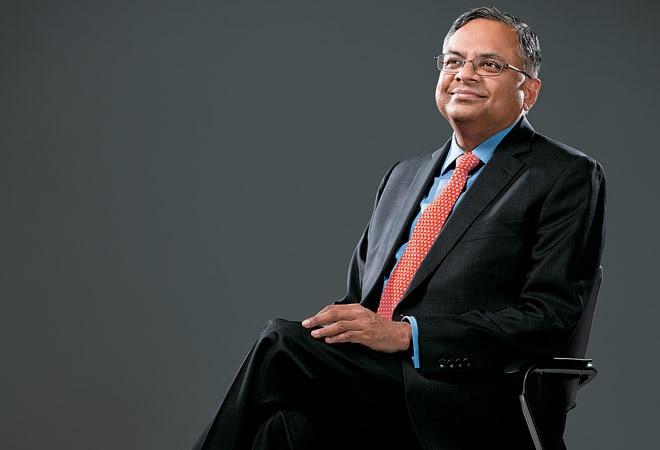 N. Chandrasekaran, chief executive officer, TCS