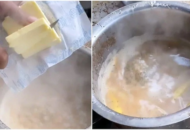 Butter in tea? Netizens ask why as video goes viral