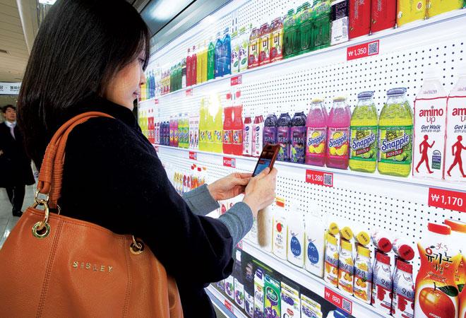 qr codes in retail tesco