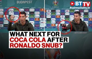 Will Coca Cola rethink its strategy after being snubbed by Cristiano Ronaldo?