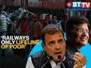 Rahul Gandhi slams govt decision on private funding for trains