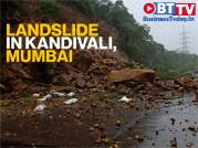Heavy rains in Mumbai cause landslide on Western Express Highway