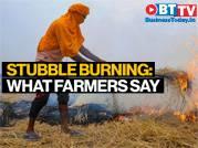 Stubble burning: Farmers on crop burning in Punjab, Haryana
