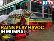 Mumbai fears a repeat of 2005-floods as heavy rain and winds batter the city