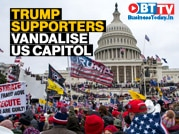World shocked as Trump supporters storm US Capitol; 4 die, many injured
