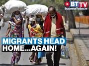 COVID impact: Migrants in Maharashtra, Delhi get ready to go home