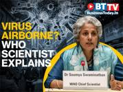 Is coronavirus airborne? WHO chief scientist Dr Soumya Swaminathan explains