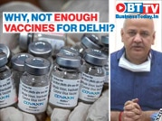 Delhi deputy CM slams Centre for allocating less vaccine doses