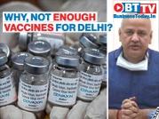 Delhi deputy CM slams Centre for allocating less vaccine doses