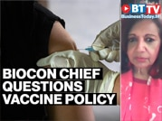 Biocon Chief Kiran Mazumdar Shaw questions India's COVID vaccine policy