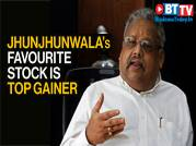 Jhunjhunwala's favourite stock is the top gainer on Sensex, Nifty