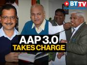 AAP 3.0: Delhi CM and cabinet ministers take charge of office