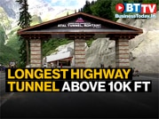 World's longest highway tunnel above 10k ft, connecting Manali and Leh, ready now