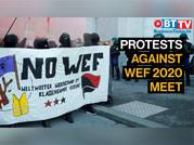 WEF 2020 kicks off: Activists stage protests in Bern against meet