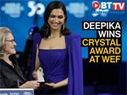Deepika Padukone wins WEF's Crystal Award 2020