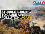 Stubble burning begins in Punjab as most farmers can't afford machines