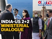 US leaders arrive in Delhi for third India-US 2+2 ministerial talks