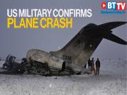 US military confirms plane crash in Taliban territory of Afghanistan