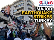 Major earthquake hits Turkish coast, Greek Islands