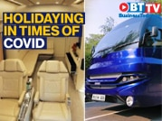 'Holiday on wheels' in luxury buses becomes new normal for five-star hotels