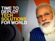 India uniquely positioned to leap ahead in information era: PM Modi