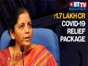 FM announces Rs 1.7 lakh crore COVID-19 relief package