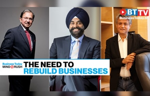 CEOs discuss rebuilding businesses after the cruel onslaught of the pandemic