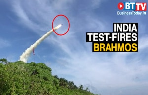 India test-fires BrahMos supersonic cruise missile in Bay of Bengal