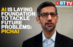 We are at a very early stage of Artificial Intelligence: Pichai at WEF