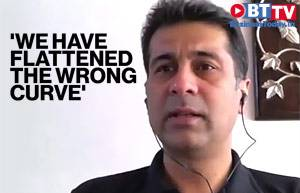 Industrialist Rajiv Bajaj says the lockdown failed as it flattened the wrong curve