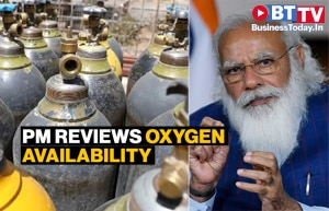 PM takes stock of oxygen supply for next 15 days