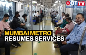 Ridership low as Mumbai metro resumes operations after 7 months