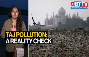 Ground report ahead of Trump's Agra visit: How clean is Taj?