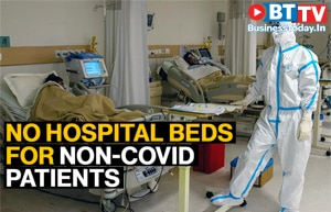 Delhi hospitals run out of beds for non-COVID patients