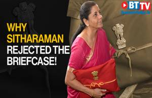 Why FM Nirmala Sitharaman has ditched the traditional budget briefcase