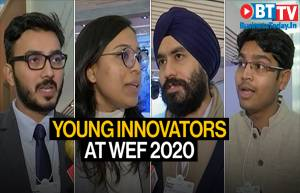 Davos: Young change agents and their solutions to global problems