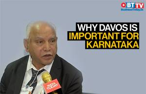 Karnataka CM B S Yediyurappa on attracting investment for Karnataka at Davos