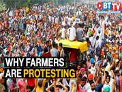 'Delhi Chalo': Farmers protest on Patiala-Ambala highway