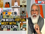PM Modi holds virtual meet with CMs, discusses COVID-19 situation