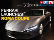 Ferrari unveils the new Roma coupe, named after the Italian capital