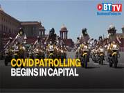 Police patrolling for COVID-19 begins in New Delhi