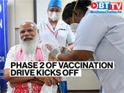 COVID-19 phase-2 vaccination drive: PM Modi takes first vaccine jab