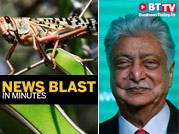 Fruits, vegetables at risk of locust attack; Premjis take voluntary cut in pay