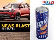 Coca Cola launches Rani Float, Mahindra recalls XUV300 units