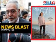Banks seek bankruptcy order against Mallya; Greta is Time's Person of the Year