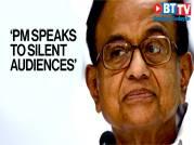 'PM talks to silent audiences', Chidambaram slams PM on CAA